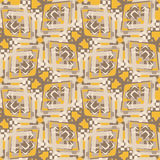 Seamless Dogon Pattern Royalty Free Stock Photography