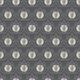 Seamless Dogwood Buds. Pattern. Easy to edit Stock Photo
