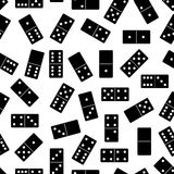 Seamless domino background Stock Images