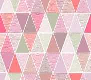 Seamless doodle dots pattern Royalty Free Stock Photography