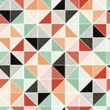 Seamless doodle dots pattern Royalty Free Stock Photos