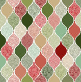 Seamless doodle dots pattern. Seamless doodle dots geometric pattern stock illustration