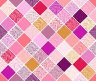Seamless doodle dots pattern Stock Photos