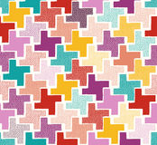 Seamless doodle dots pattern Royalty Free Stock Photo