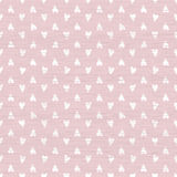 Seamless doodle hearts pattern Stock Images