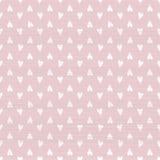 Seamless doodle hearts pattern stock illustration