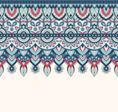 Seamless doodle illustration, zentangle pattern, wallpaper, background, texture. Indian Orment. Design for printing on Royalty Free Stock Photo