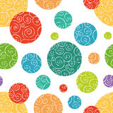 Seamless doodle pattern Stock Photo
