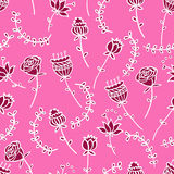 Seamless doodle pattern Royalty Free Stock Photography