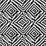 Seamless doodle pattern grunge texture.Trendy modern ink artisti Stock Photo