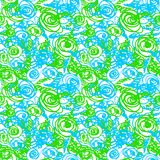 Seamless doodle pattern Stock Images