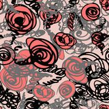 Seamless doodle pattern Stock Image