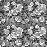 Seamless doodle pattern Royalty Free Stock Photo