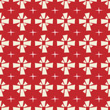 Seamless doodle ribbon texture pattern on red background. Seamless doodle ribbon texture vector pattern on red background Stock Images