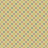 Seamless dot pattern. Hand drawn dot pattern on cardboard with vector illustration Royalty Free Stock Photos