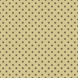 Seamless dot pattern. Hand drawn dot pattern on cardboard with vector illustration Stock Image