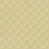 Seamless dot pattern. Hand drawn dot pattern on cardboard with vector illustration Royalty Free Stock Images