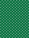 Seamless Dot Pattern. White Dots on Green Royalty Free Stock Photography