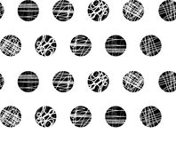 Seamless dot repeat pattern with textures. Seamless dots with textures in a repeat pattern Royalty Free Stock Image