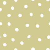 Seamless dot vector repeat background Royalty Free Stock Image