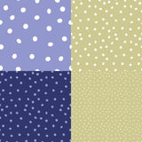 Seamless dot vector repeat background Stock Photography