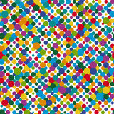 Seamless dots background Royalty Free Stock Image
