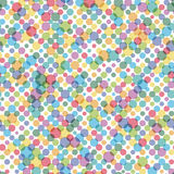 Seamless dots background Stock Image
