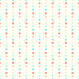 Seamless dots background Stock Photo