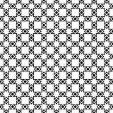 Seamless dots and checkered pattern Royalty Free Stock Image