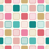 Seamless dots geometric background Stock Image