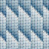 Seamless dots halftone Royalty Free Stock Photo