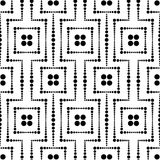 Seamless dots mesh pattern Royalty Free Stock Image