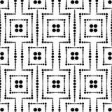 Seamless dots mesh pattern Royalty Free Stock Image
