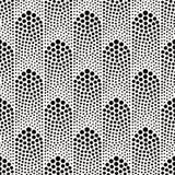 Seamless dots pattern Stock Image