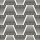 Seamless dots pattern Royalty Free Stock Photo