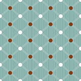 Seamless dots pattern background Royalty Free Stock Image