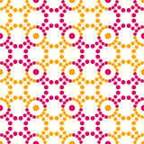 Seamless dots pattern Royalty Free Stock Photography