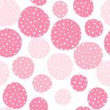Seamless dots pattern royalty free illustration