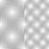 Seamless dots pattern (vector). Seamless dots pattern, perfectly tile-able both vertically and horizontally; scalable and editable vector graphic Royalty Free Stock Photos