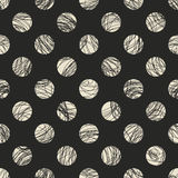 Seamless dots pattern Stock Images