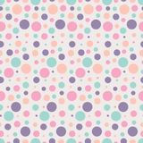Seamless dots pattern. Vector illustration royalty free illustration