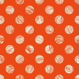 Seamless dots pattern Royalty Free Stock Image
