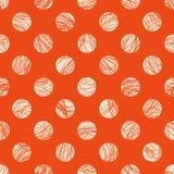 Seamless dots pattern. Vector illustration Royalty Free Stock Image