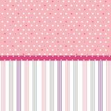 Seamless dots pattern, wallpaper. Seamless dots pink pattern, wallpaper royalty free illustration