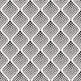 Seamless dots texture geometric pattern Royalty Free Stock Photo