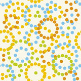 Seamless dots (vector) Stock Image