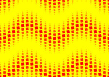 Seamless dotted wavy pattern Stock Image