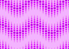 Seamless dotted wavy pattern Royalty Free Stock Photography