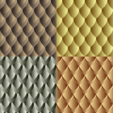 Seamless dragon skin pattern Stock Photo