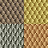 Seamless dragon skin pattern Stock Photo